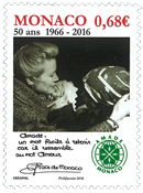 Monaco - Amade Monaco / 50 Years - Mint stamp