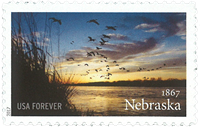 United States - Nebraska - Mint stamp