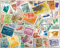 Indonesia - 100 different stamps