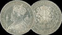 1897 Oscar II 25 års reg.jub.