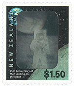 New Zealand - Moon landing - Mint - Nice coin cover