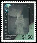 New Zealand månelanding - Postfrisk