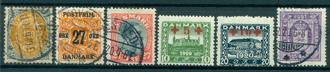 Danmark - Parti - 1875-1952