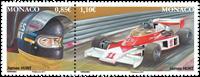 Monaco - Legendariske racerkørere - Postfrisk sæt 2v
