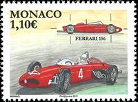 Monaco - Ferrari 156 - Postfrisk frimærke