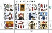 Marshall Øerne - Alverdens postkasser - Postfrisk miniark