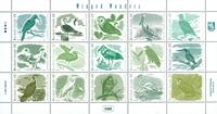 Marshall Øerne - Fugle - Postfrisk sæt 15v