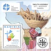 Namibia - Lutheran Reformation - Mint souvenir sheet