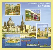 France - Valetta - Mint souvenir sheet