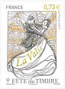 France - Stamp Day - Mint stamp