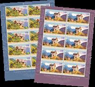 Liechtenstein - Europa 2017 - Postfrisk sæt 10-ark