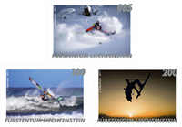 Liechtenstein - Outdoor Sport - Mint set 3v