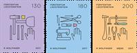 Liechtenstein - Klassiske håndværk - Postfrisk sæt 3v