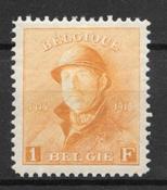 Belgia 1919 - AFA 154 - Postituore