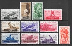 Italien 1934 - AFA 426-436 - ustemplet