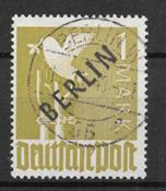 Berliini 1948 - AFA 17 - Leimattu