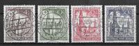 Berliini 1953 - AFA 108-111 - Leimattu