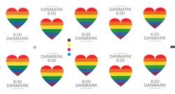 Danmark - Pride - Postfrisk hæfte