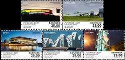 Danmark - Århus Kulturhovedstad 2017 - Postfrisk sæt 5v