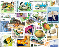 Togo - 100 different stamps