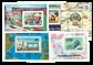 Tchad 59-88 - 323 frimærker + 20 miniark