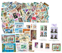 Chad 1959-1988 - 323 stamps and 20 souvenir sheets