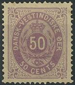 Dansk Vestindien - 1879