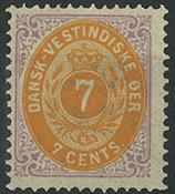 Danish Antilles - 1874