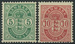 Danmark - 1884-85