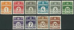 Danmark - 1914-30