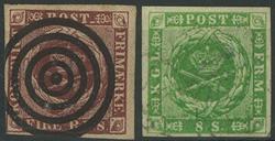 Danmark - 1851-57