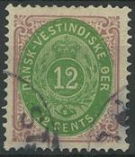Danish Antilles - 1877