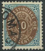 Danish Antilles - 1901