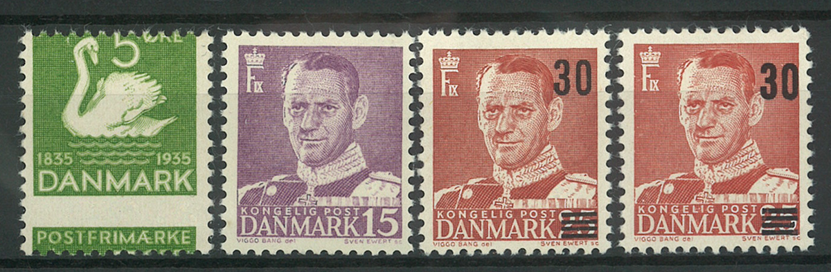 Danmark - 1935-56