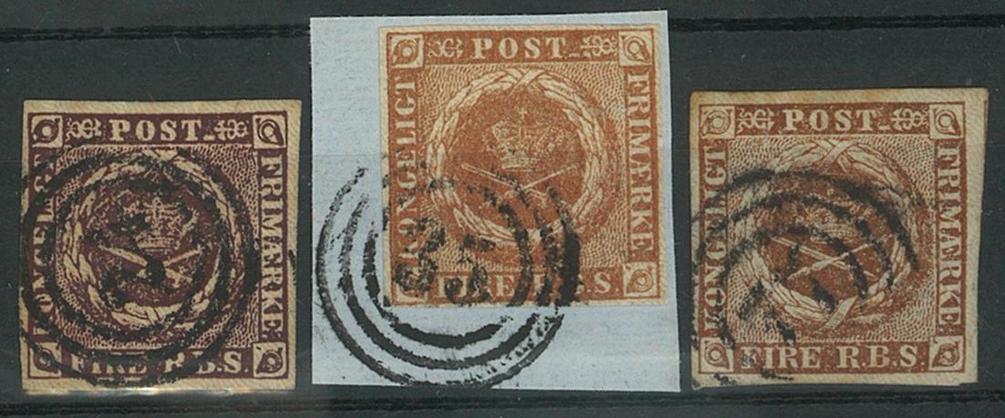 Danmark - 1853-54