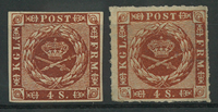 Danmark - 1858-63