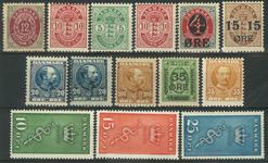 Danmark - Parti - 1895-1929