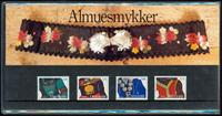 Danmark - Almuesmykker. Souvenirmappe