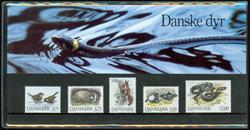 Danmark - Danske Dyr. Souvenirmappe