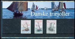 Danmark - Danske Træjoller. Souvenirmappe