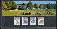 Danmark - Frilandsmuseet 100 år. Souvenirmappe