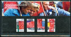 Danmark - Arbejdsmarkedets organisering. Souvenirmappe.