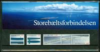 Danmark - Storebæltsforbindelsen. Souvenirmappe