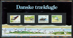Danmark - Danske Trækfugle. Souvenirmappe