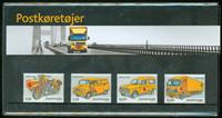 Danmark - Postkøretøj. Souvenirmappe