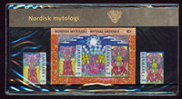 Danmark - Nordisk mytologi. Souvenirmappe