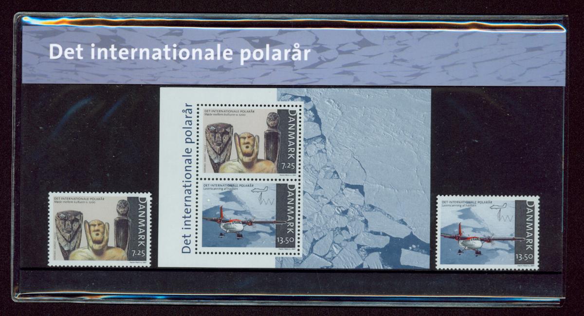 Danmark - Det internationale polar år. Souvenirmappe
