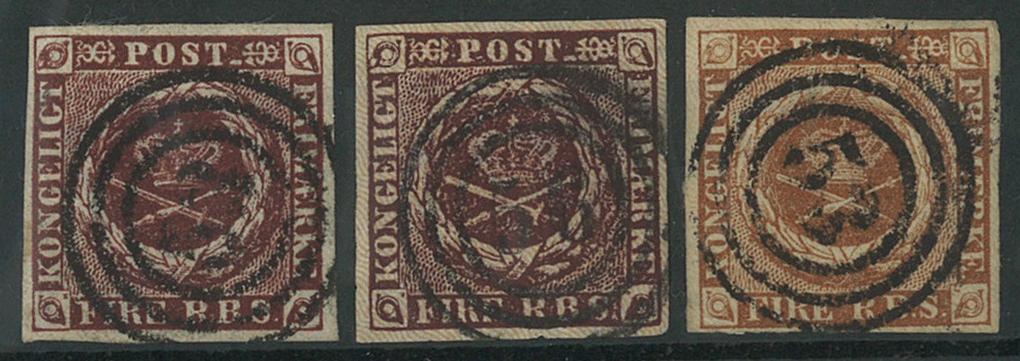 Danmark - 1852-54