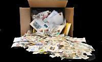 Bavaria - Kiloware / Stamp mixture - Mission - 4 kg in box