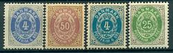 Danmark - 1875-98